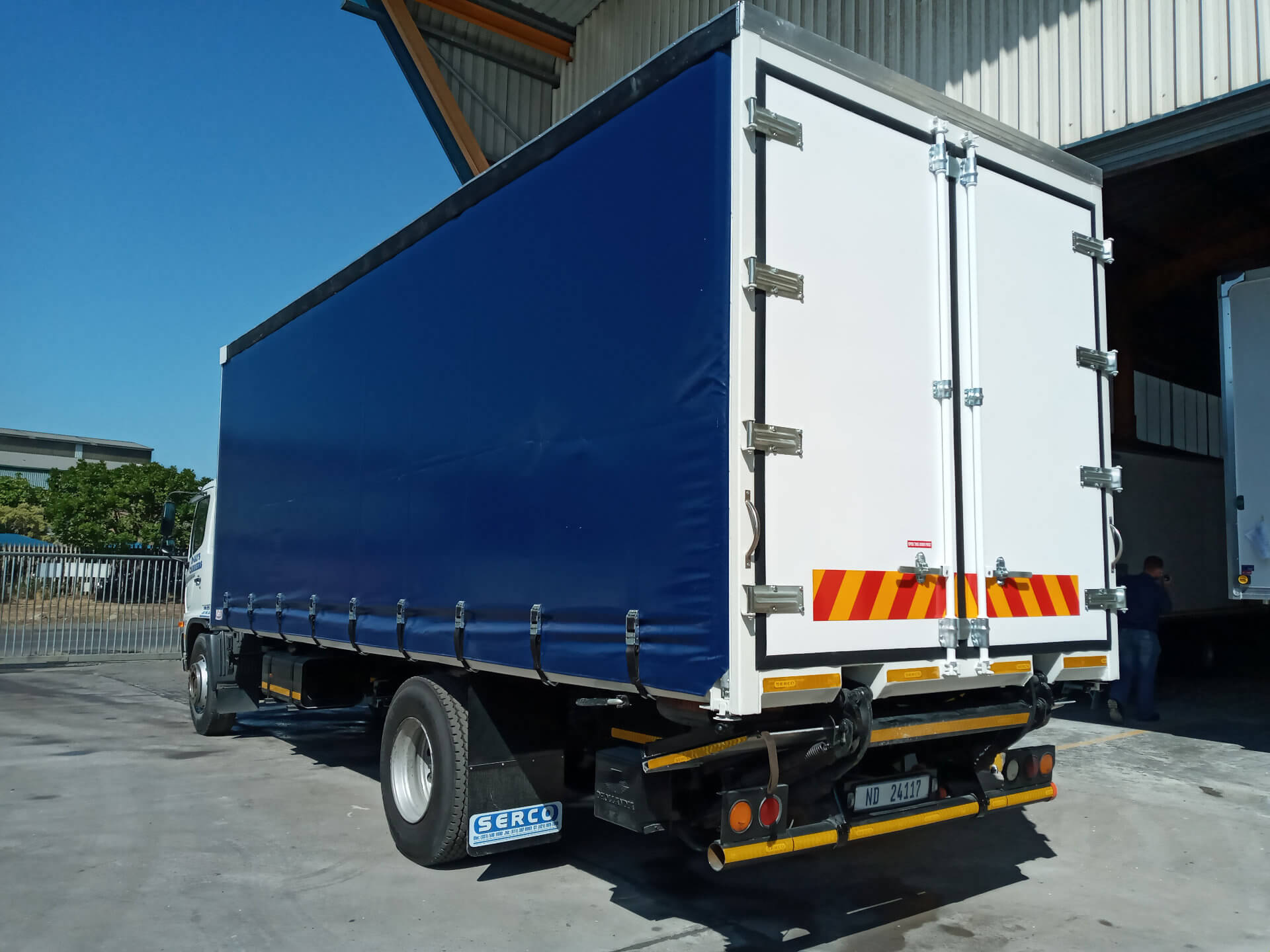 Dry Freight curtain sider