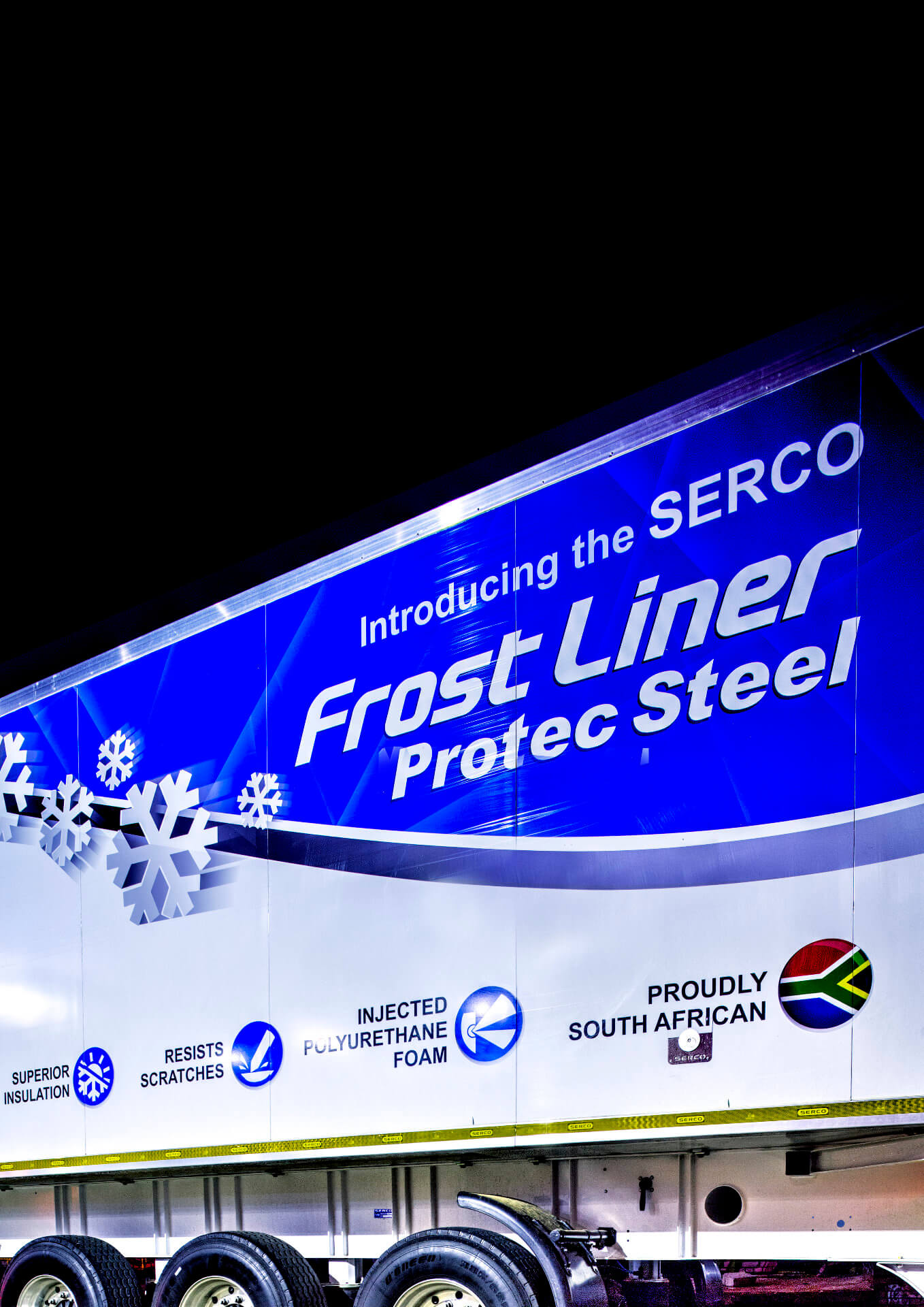 Refrigerated bodies Protec Steel frost liner